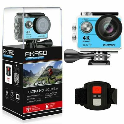 AKASO EK7000 Ultra HD 4K Sport Action Camera 12MP WiFi 2019 - Seller UK