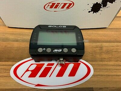 Aim Solo 2 GPS Motorcycle Race Track Day Lap Timer