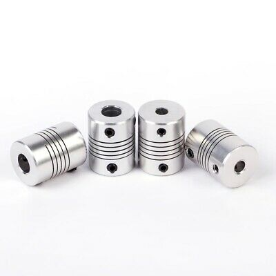 Flexible Shaft Coupler Coupling Stepper Motor 3D Printer CNC 4, 5, 6, 8, 10mm