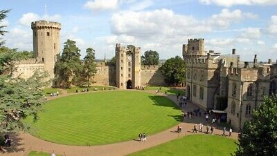 2 x Warwick Castle E-Tickets Friday 19th july 2019 EMAILED TO YOU