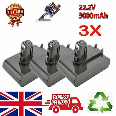3X 3.0Ah Vacuum Cleaner Battery pack for Dyson DC30 DC31 DC34 DC35 22.2V Animal