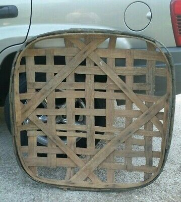 Antique Tobacco Drying Basket Authentic Victory Warehouse Goldsboro, NC