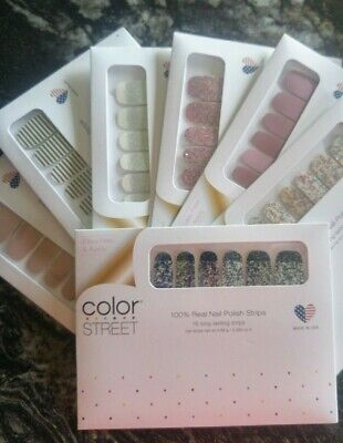 Color Street Nail Strips Buy 3 Full Sets Get 5 FREE ACCENT Nails~FLASH SALE $9