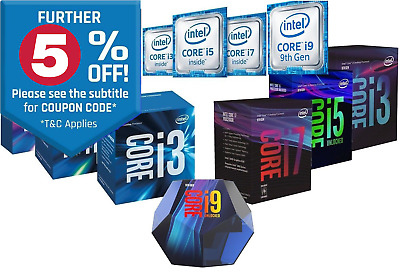 Intel Core i5 i7 8400 8500 8600K 8700K 9400F 9500 9600 9700 CPU Processor