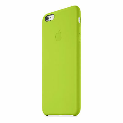 Authentique Officiel Apple IPHONE 6 Plus/6S Plus Vert Étui en Silicone Mgxx2zm/A