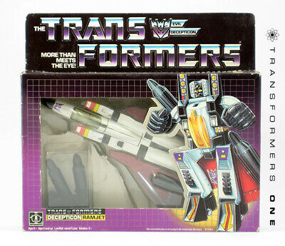 RAMJET - G1 Transformers Decepticon Seeker - [PICK YOUR OWN PARTS] - 1985
