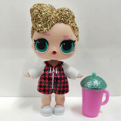 lol doll Big Sister Series Glitter Gold Hair Red Dress Kids Birthday Gift