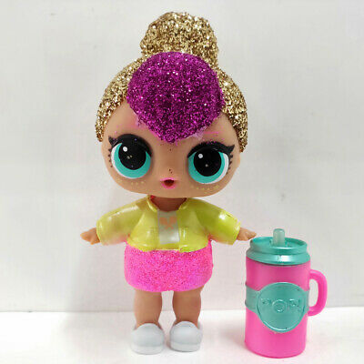 lol doll Big Sister Serie Glitter Gold Hair Pink Dress Kids Birthday Gift Cute