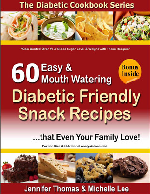Diabetic Cookbook - 60 Easy and Mouth Watering 012DA Eb00k/PDF-FAST Delivery