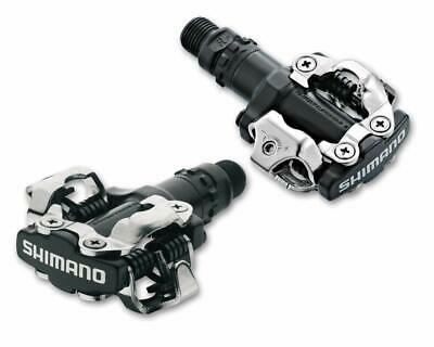 SHIMANO PD-M520 1000 Double-sided SPD Bicycle Pedal Black // Silver EPDM520L