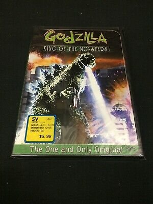 Godzilla, King of the Monsters (DVD, 2001) New! Sealed!
