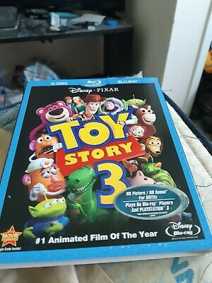 Toy Story 3 - Embossed Slip Cover Only (no blu ray / dvd) Three, III