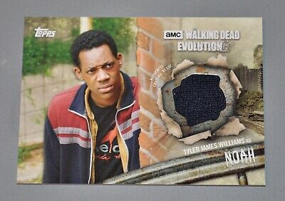 Topps The Walking Dead Evolution Noah Relic Card R-No