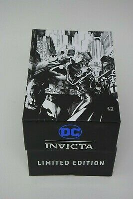 *SUPER RARE* Invicta DC Comics Limited Edition JIM LEE Batman Men's Watch 28369