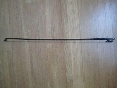 Hermann Fiedler of Dresden, Silver Mounted and MOP Inlay Violin Bow c. 1910-20!