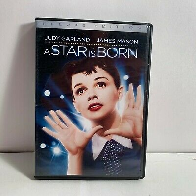 A Star Is Born (1954, Deluxe Edition 2 Disc DVD) Judy Garland - WORKS GREAT !!
