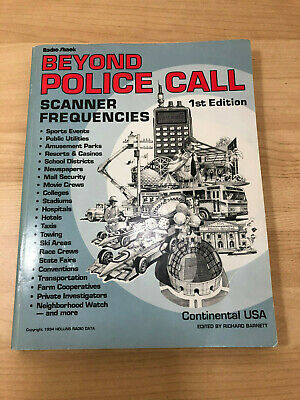 RADIO SHACK POLICE Call Frequency Guide Scanner Reference 1993 Vol 2