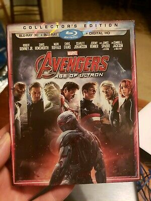 Avengers: Age of Ultron (Blu-ray Disc, 2015, Includes Digital Copy)