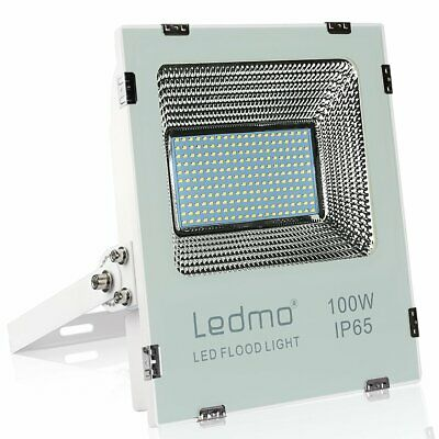 LEDMO Projecteur LED Exterieur 100W 6000K projecteur LED Blanc IP65 10000lm