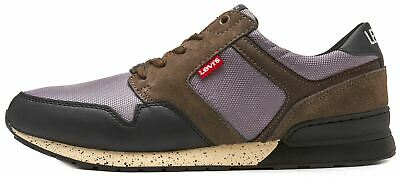 Levis NY Runner II Trainers in Brown 227823-837-28