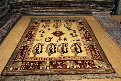 Turkmen Rug made out of 100% Natural Wool Vegetable dyed Chobi Handmade #PM75