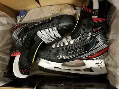 BAUER VAPOR 1x skates size 9 mens with medium CCM footbeds
