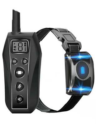 600M Remote Dog Training Shock Collar Waterproof for Small Medium Large Pet Dogs