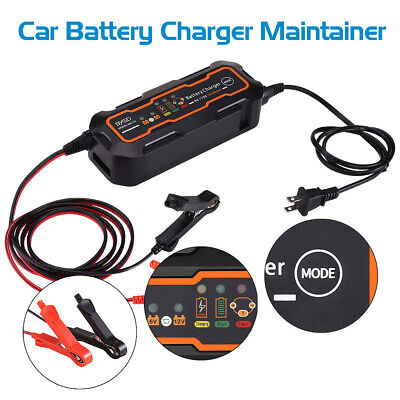 6V 12V 5A Car Truck Motorcyc Smart Automatic Battery Charger Maintainer Trickle
