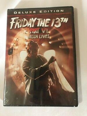 Friday the 13th - Part 6: Jason Lives (DVD, 2009) Brand New Sealed