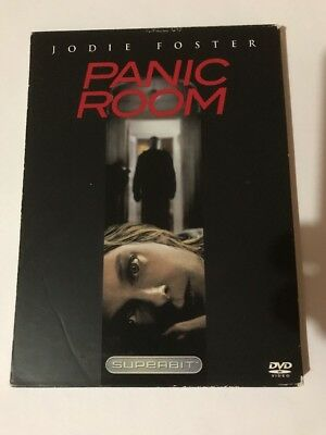 Panic Room (DVD, 2002, The Superbit Collection) Jodie Foster