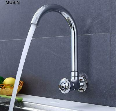 Cold Water Wet Bar Sink Faucet Single Handle Single Hole Brass Chrome Outdoor