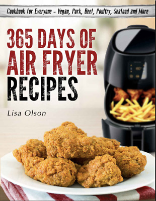 365 Days of Air Fryer Recipes –Cookbook for Everyone 001 Eb00k/PDF-FAST Delivery