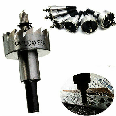 HSS Hole Saw Tooth for Steel Metal steel Drill Bits Cutter Holesaw Tool 7 Sizes