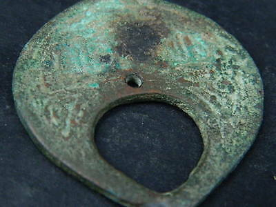 Ancient Bronze Pendant Islamic 1000 AD #B1048