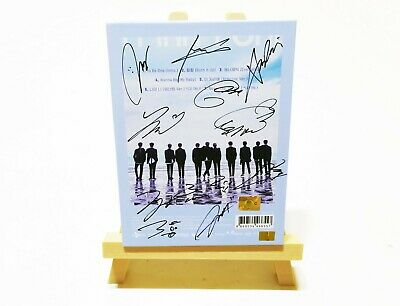 [ WANNA ONE ] 1X1=1 TO BE ONE 1st Mini Album Original Hand Signed CD WITH COA
