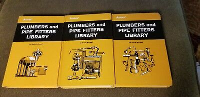 1978 AUDEL Plumbers & Pipe Fitters Library 3 book set