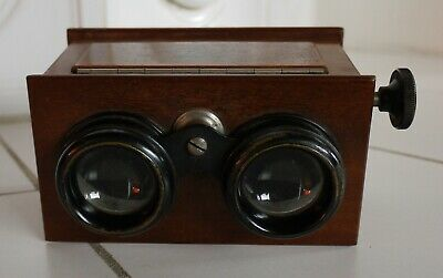 ICA alter Stereo Betrachter aus Holz  Viewer  (N5019)