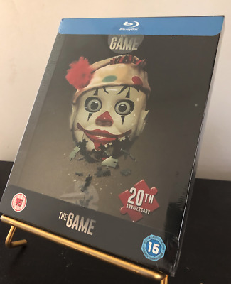 [BLU RAY] STEELBOOK THE GAME. Edition UK version française. NEUF