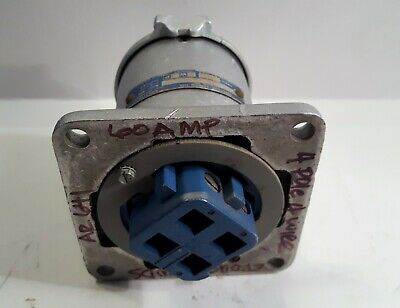 Crouse-Hinds Ar641 60 Amp 250 Vdc / 600 Vac 4 Wire 4 Pole Arktite Receptacle