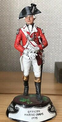 Charles Stadden Lead/pewter Officer Marine Corps 1775 Signed + Freebie