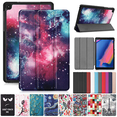 "For Samsung Galaxy Tab A 8.0"" 2019 SM-P200 P205 Case Folio Stand Leather Cover"