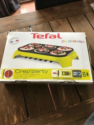 Tefal Crep Party 6 Colormania
