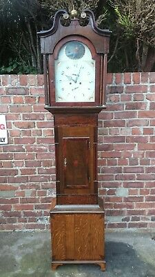 A Georgian 8 Day Longcase Clock For Restoration,  R.S. Stokes, Birmingham