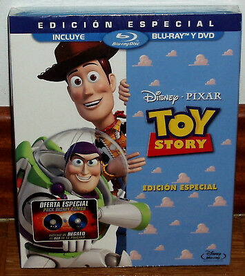 Toy Story Edition Special Disney Combo Blu-Ray+DVD with Slipcover (Unopened) R2