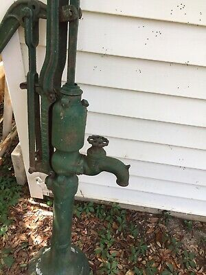 Antique F.E. Myers & Bro Ashland Hand Pump Well Water Cast Iron Vintage Farm
