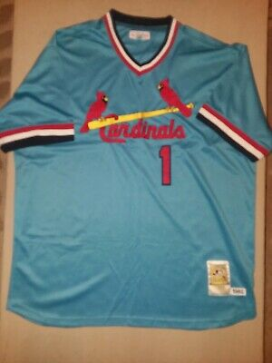 08c42611 NWT OZZIE SMITH St. Louis Cardinals Mitchell & Ness Cooperstown Men ...