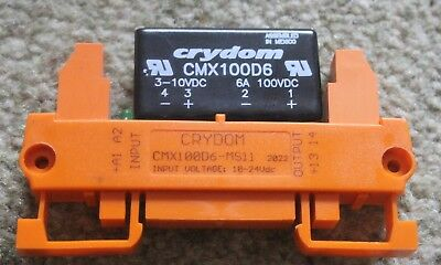 LOT OF 2 ABB OBC1000-24VDC 1SNA608018R1700 SOLID STATE RELAY IN1S3B1