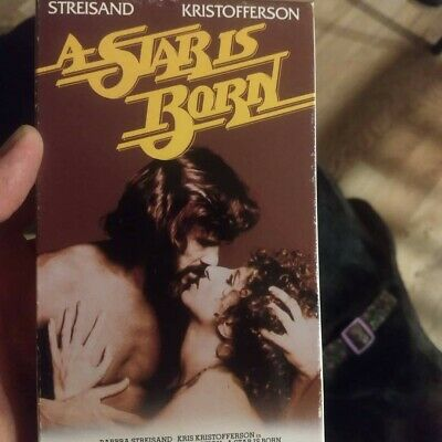 A Star Is Born (VHS, 1976, Barbara Streisand)