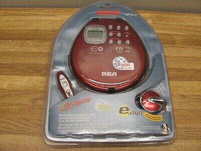 RCA RP2472 Personal Portable CD Player Discman New Sealed