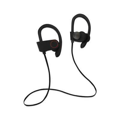 Universal Sport Bluetooth Headphones With Hd Sound Quality And Sweat Proof Black